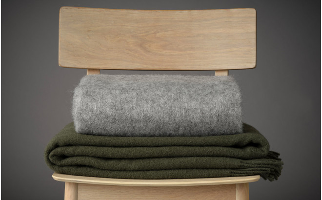 Manta infantil de lana merino ecológica Silkeborg Uldspinderi