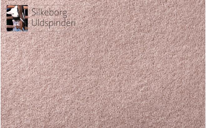 cojín infantil rosa de lana escandinavia