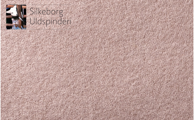 pink Scandinavia wool children's throw cushion