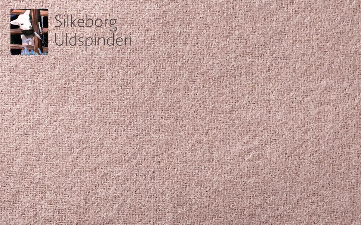 cojín infantil de lana (rosa)