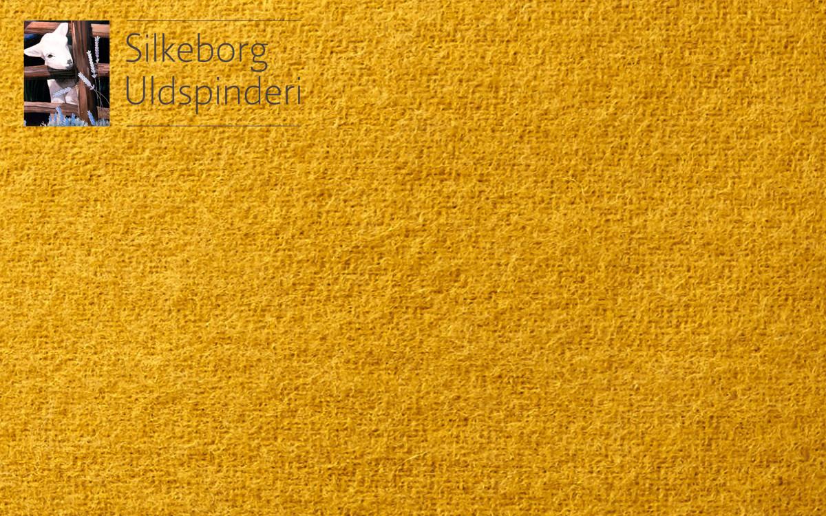 coussin enfant en laine (jaune)