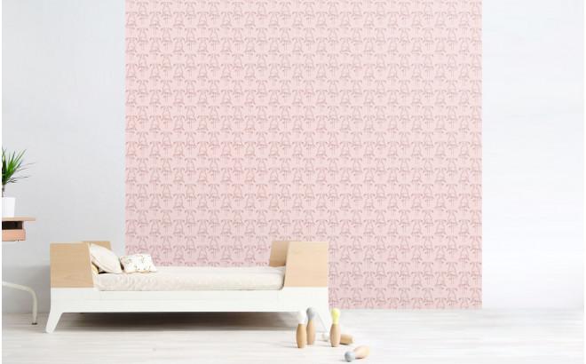 Pink Flamingo Wallpaper Girls Room Wallpaper And Wall Murals