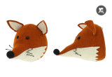 mini fox head wall trophy by fiona walker