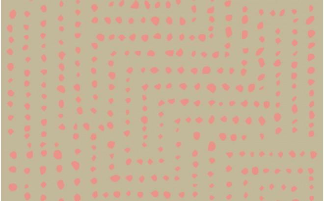 papier peint africain rose pour chambre bébé ou chambre enfant fille