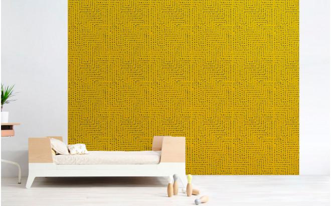 grey african wallpaper for kids room, girls room or baby room nursery