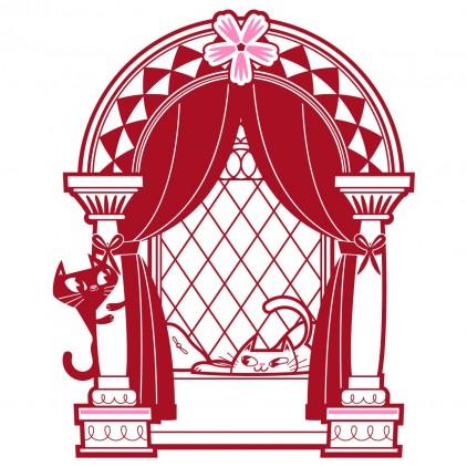 stickers enfant fille chambre princesse décor