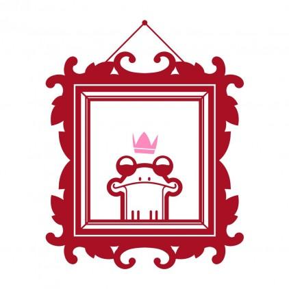 vinilos infantiles cama niña princesa príncipe azul