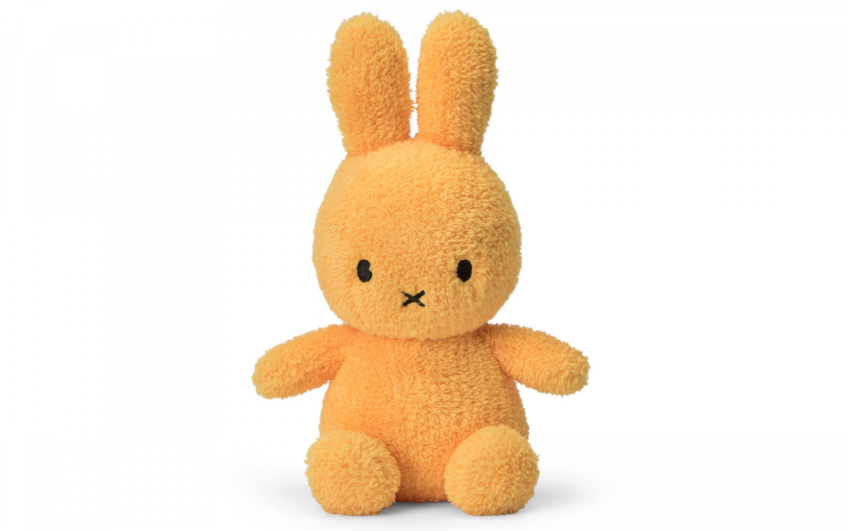 miffy rabbit soft toy yellow