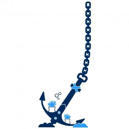 anchor underwater world kids wall decals