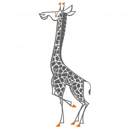 stickers enfant girafe