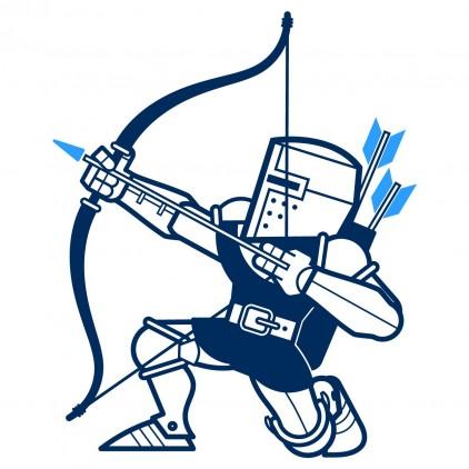 archer knights kids wall decals