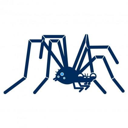 vinilos infantiles caballeros araña