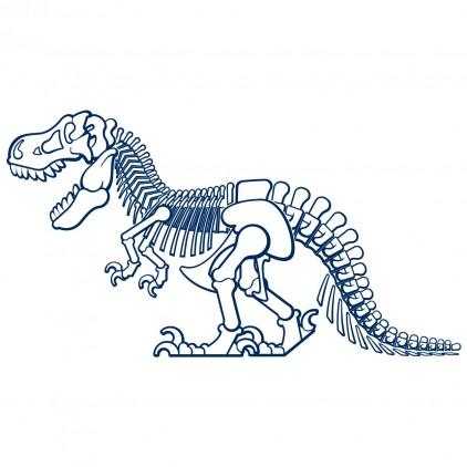 sticker enfant dinosaures dino t-rex xl