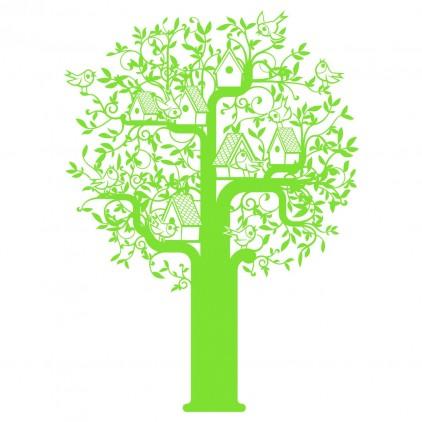 xxl tree nature kids wall decal