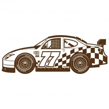 xxl racing cars transportation kids wall decal