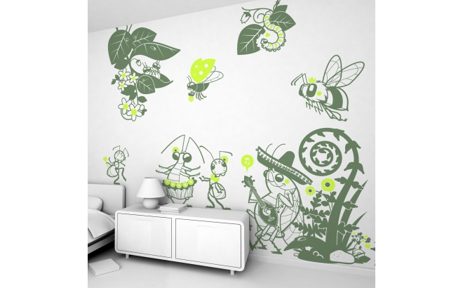Sports The Picture for Home Decoration Cute Hippopotamus Soccer Goal Keeper Football Play Cartoon Print Customizable Wall Stickers 24x20 Apple Green Baby Blue Purple Kids' Furniture, Décor & Storage