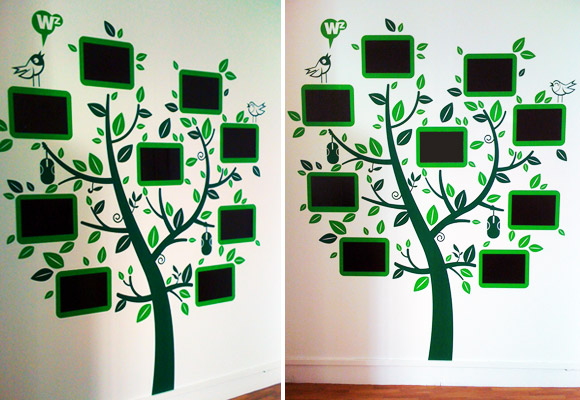 E-GLUE ON DEMAND, custom kids wall decals