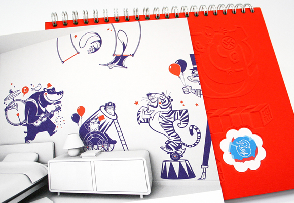 ELLY PLASS & HENNING OTTO & EIGA TEAM // play! design for kids calendar