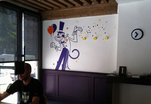 ringmaster giant wall decal
