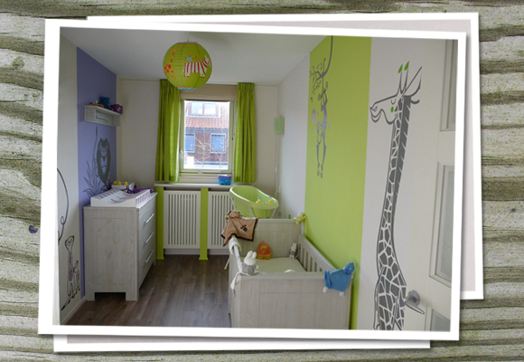 e glue wall stickers jungle themed wall decals for kids room