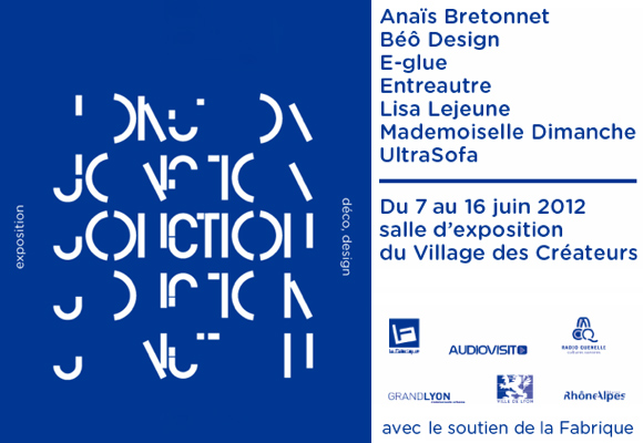 JONCTION // design exhibition in Lyon, France