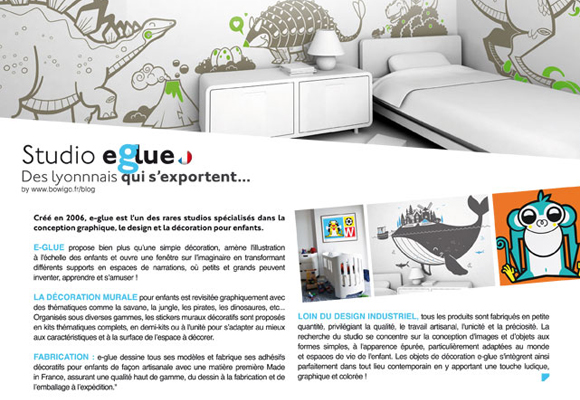 e-glue design for kids