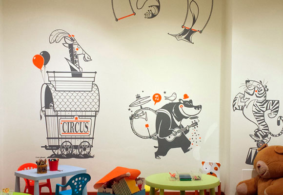 e-glue kids wall decals at eurekakids