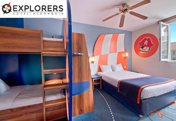 room of Explorers hotels @ Disneyland Paris