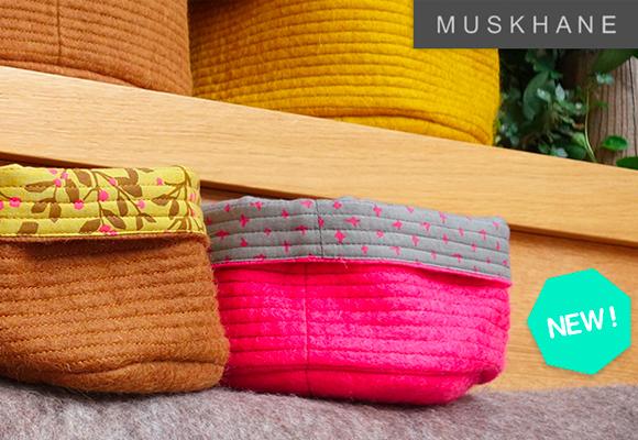 nueva colección de cestas y alfombras para habitaciones infantiles