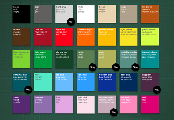 nouvelles couleurs pour vos stickers enfants e glue. Black Bedroom Furniture Sets. Home Design Ideas