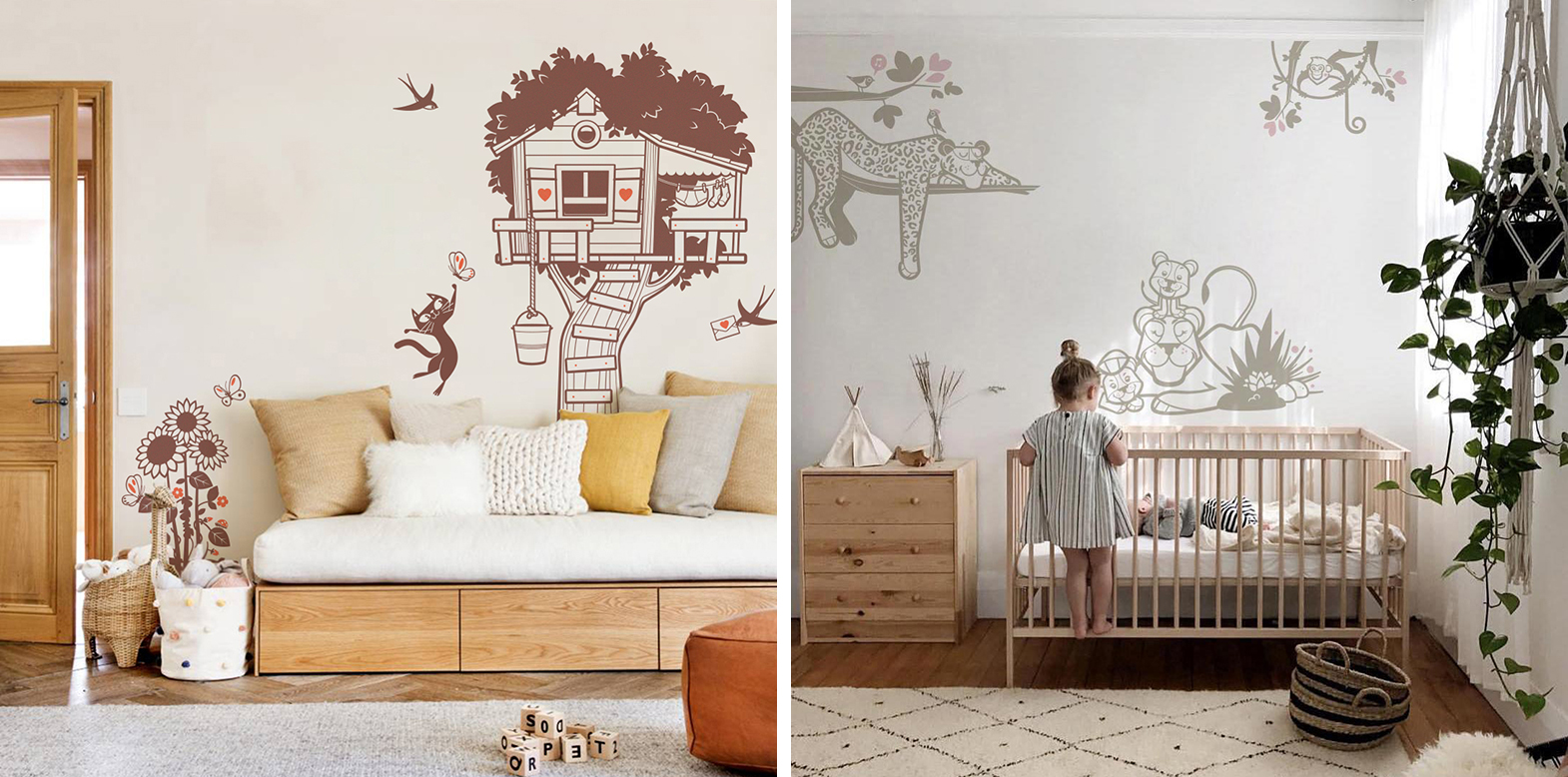 stickers enfant chambre fille par E-Glue