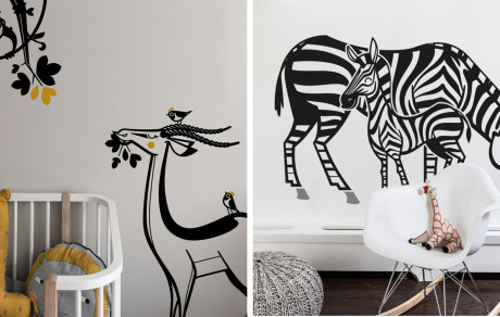 kids wall decals, wallpapers and kids room decor accessories