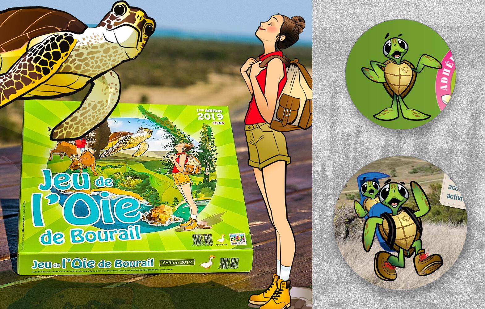 Jeu de l'Oie par E-Glue Design - Office du Tourisme de Bourail Nouvelle Calédonie