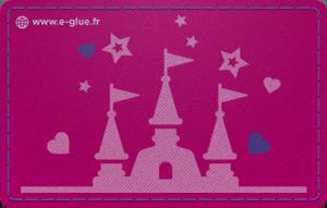 Carte cadeau princesse