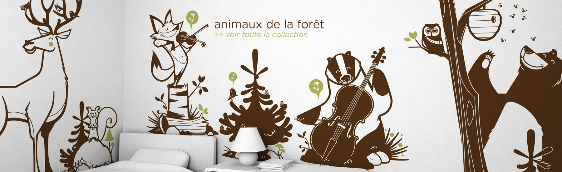 stickers-animaux-foret