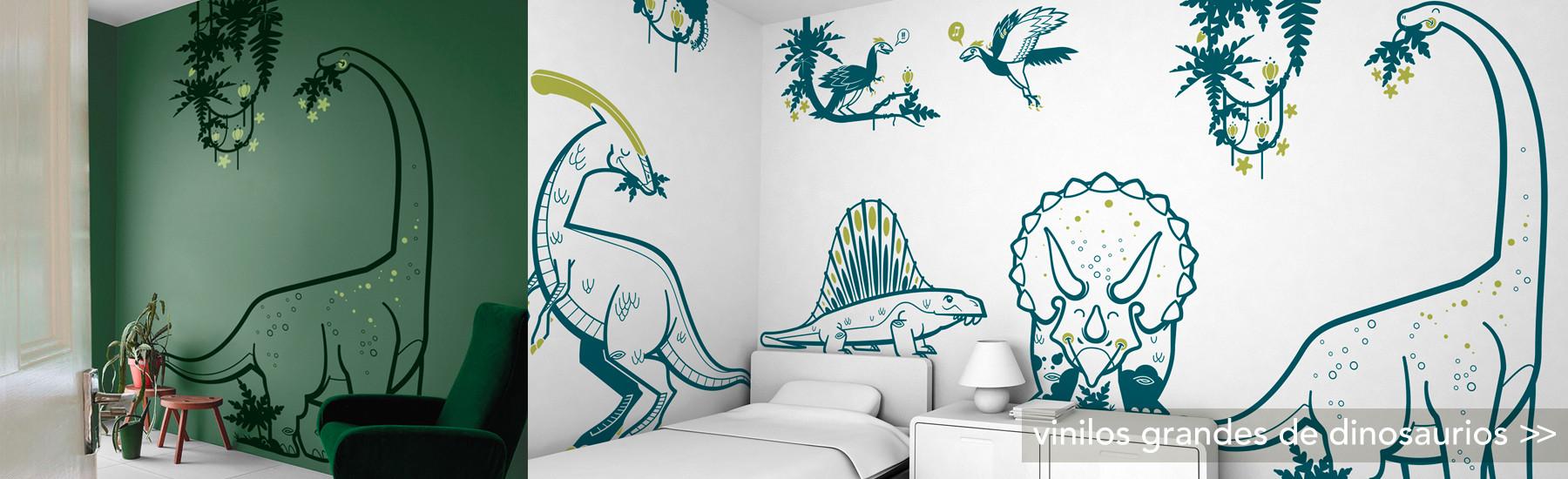 vinilos grandes de dinosaurios XXL, decoración de pared infantil