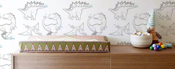papier-peints à motifs