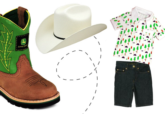 Western Look For Little Boys Now For Kids By E Glue
