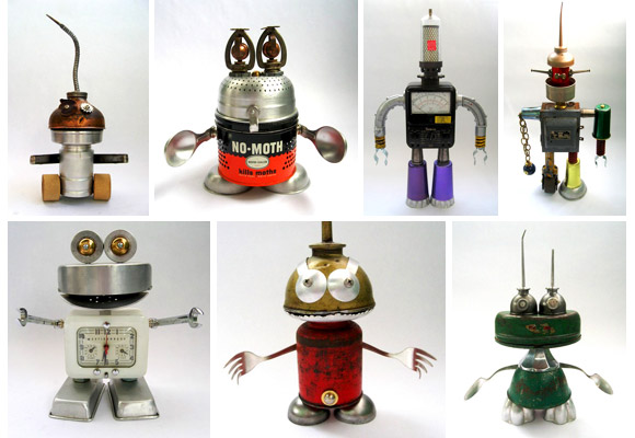 ADOPTABOX by BRIAN MARSHALL // amazing robots