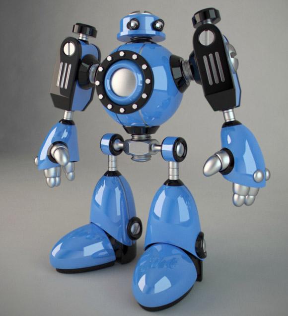 © E-GLUE & VINCENT SALASOMBATH // jojo the robot
