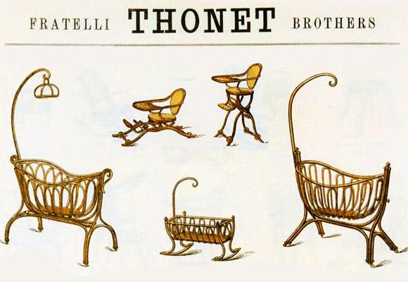 Thonet pionnier du mobilier design now for kids by e glue for Catalogue mobilier design