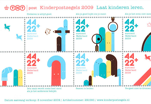 © CHRISTIAN BORSTLAP // kinderpostzegels 2009
