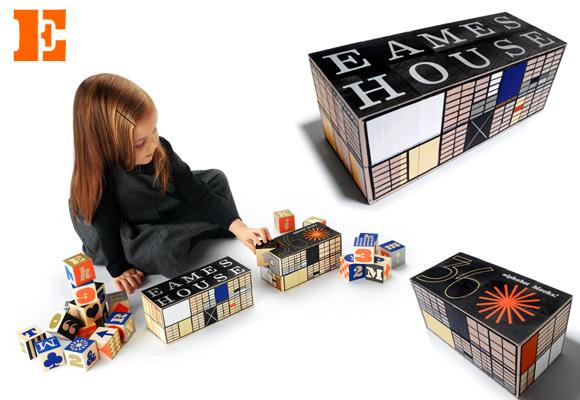 House industries cubes eames pour enfants now for for House industries eames