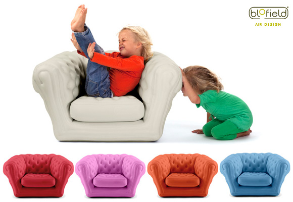 baby blo fauteuil chesterfield gonflable pour enfants. Black Bedroom Furniture Sets. Home Design Ideas