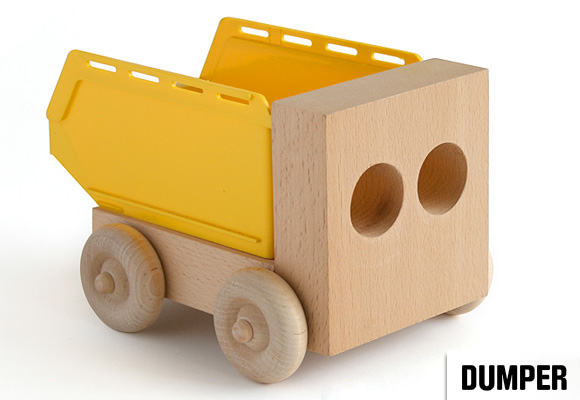 SAM JOHNSON for THORSTEN VAN ELTEN // dumper in yellow