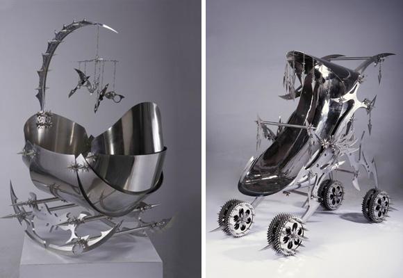 NE ZHA by SHI JINSONG // razor-sharp sculptures