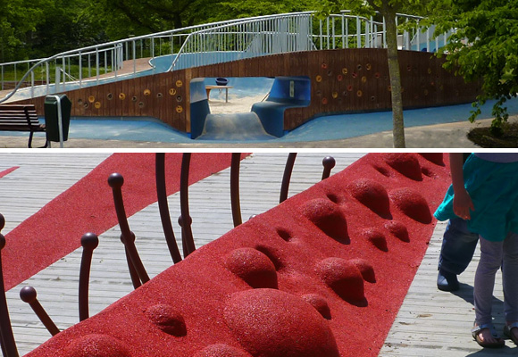 CARVE // Melis Stokepark & Van Campenvaart playgrounds - Hague NL