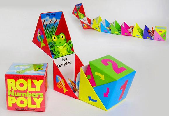 KEES MOERBEEK // roly poly numbers for kids
