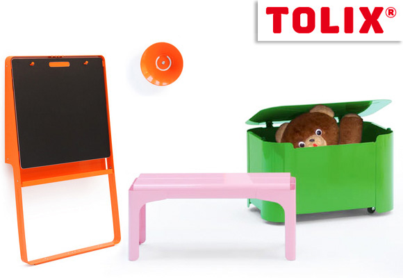 tolix kids nouvelle collection de mobilier pour enfants now for kids by e glue. Black Bedroom Furniture Sets. Home Design Ideas