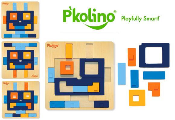 P'KOLINO // robot puzzle